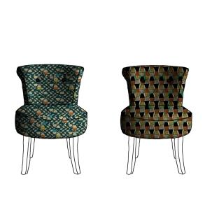 Congo (à gauche) : 50 x 23 cm + Brancusi (à droite) : 18 x 32 cm