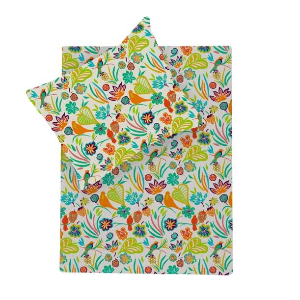 Oiseaux Colorés : 70 x 100 cm
