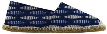 Africa Bleu : 16 x 32 cm (motif réduit de 50%)