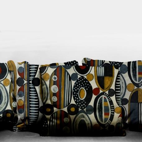 Médaillons Africains : 60 x 82 cm